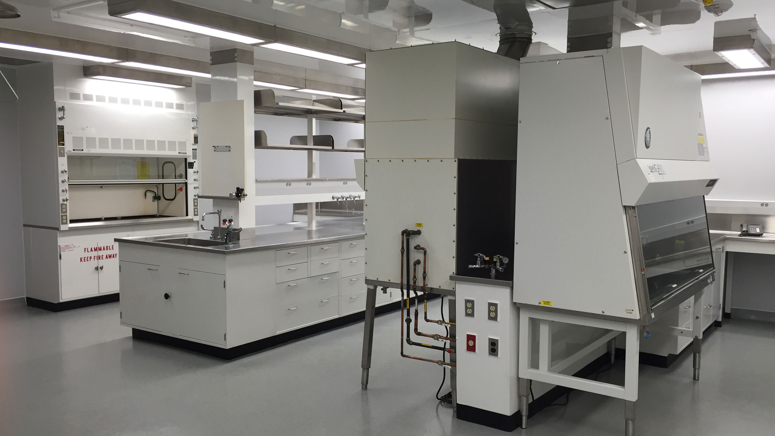 Walter Reed Army Institute of Research BSL3 Lab